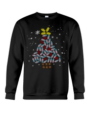 Pharmacy Xmas Tree Ugly Sweater Crewneck Sweatshirt front