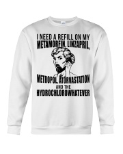 Refill Metamorfin Linzapril Crewneck Sweatshirt thumbnail