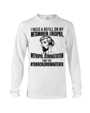 Refill Metamorfin Linzapril Long Sleeve Tee thumbnail