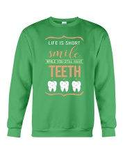 Smile while you still have teeth Crewneck Sweatshirt thumbnail