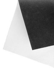 "Check Ya Energy Coir Pattern Print Doormat 22.5"" x 15""  aos-doormat-close-up-front-02"