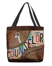 Counselor love inspire All-over Tote front