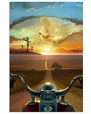 Ride With Jesus Canvas 11x17 Poster front
