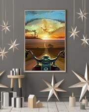 Ride With Jesus Canvas 11x17 Poster lifestyle-holiday-poster-1