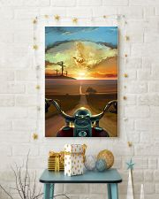 Ride With Jesus Canvas 11x17 Poster lifestyle-holiday-poster-3
