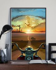 Ride With Jesus Canvas 11x17 Poster lifestyle-poster-2