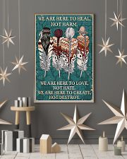 Native American We Are Here To Heal 11x17 Poster lifestyle-holiday-poster-1