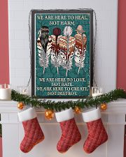 Native American We Are Here To Heal 11x17 Poster lifestyle-holiday-poster-4