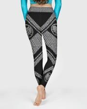 Love Bicycle 3D Pattern Print High Waist Leggings  High Waist Leggings aos-high-waist-leggings-lifestyle-06