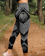 Love Bicycle 3D Pattern Print High Waist Leggings  High Waist Leggings aos-high-waist-leggings-lifestyle-21
