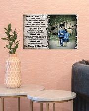Personalized Camping Fifth Wheel The Day I Met 17x11 Poster poster-landscape-17x11-lifestyle-21