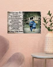 Personalized Camping Fifth Wheel The Day I Met 17x11 Poster poster-landscape-17x11-lifestyle-22