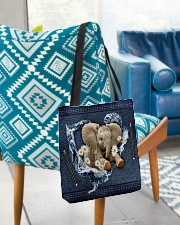 Elephant Daisy Jean For Elephant Lovers Tote Bag All-over Tote aos-all-over-tote-lifestyle-front-01