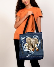 Elephant Daisy Jean For Elephant Lovers Tote Bag All-over Tote aos-all-over-tote-lifestyle-front-06