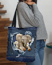 Elephant Daisy Jean For Elephant Lovers Tote Bag All-over Tote aos-all-over-tote-lifestyle-front-09