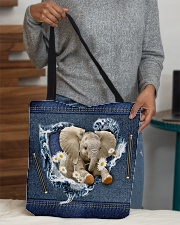 Elephant Daisy Jean For Elephant Lovers Tote Bag All-over Tote aos-all-over-tote-lifestyle-front-10