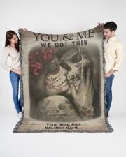 We Got This 60x80 - Woven Blanket aos-woven-throw-blanket-60x80-lifestyle-front-01