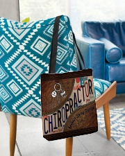 Chiropractor Respect Caring Courage All-over Tote aos-all-over-tote-lifestyle-front-01