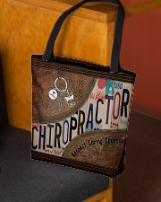 Chiropractor Respect Caring Courage All-over Tote aos-all-over-tote-lifestyle-front-02