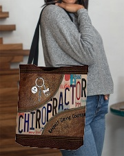Chiropractor Respect Caring Courage All-over Tote aos-all-over-tote-lifestyle-front-09