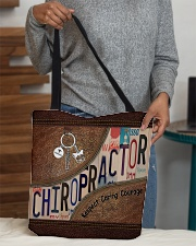 Chiropractor Respect Caring Courage All-over Tote aos-all-over-tote-lifestyle-front-10