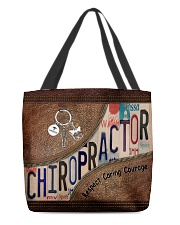 Chiropractor Respect Caring Courage All-over Tote back