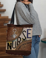 Nurse Respect Caring Courage All-over Tote aos-all-over-tote-lifestyle-front-09