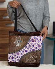 Medical Technologist Leather Pattern Print All-over Tote aos-all-over-tote-lifestyle-front-10