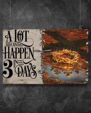 Jesus A Lot Can Happen In 3 Days  17x11 Poster aos-poster-landscape-17x11-lifestyle-12