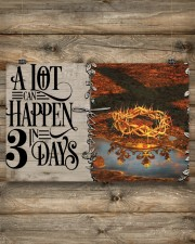 Jesus A Lot Can Happen In 3 Days  17x11 Poster aos-poster-landscape-17x11-lifestyle-14