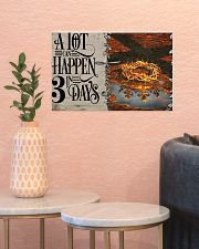 Jesus A Lot Can Happen In 3 Days  17x11 Poster poster-landscape-17x11-lifestyle-21