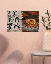 Jesus A Lot Can Happen In 3 Days  17x11 Poster poster-landscape-17x11-lifestyle-22