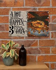 Jesus A Lot Can Happen In 3 Days  17x11 Poster poster-landscape-17x11-lifestyle-23