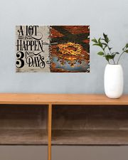 Jesus A Lot Can Happen In 3 Days  17x11 Poster poster-landscape-17x11-lifestyle-24