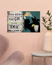 You Are The Gin To My Tonic Personalized 17x11 Poster poster-landscape-17x11-lifestyle-22
