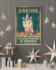 Baking Because Murder Is Wrong  11x17 Poster lifestyle-holiday-poster-1