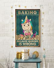 Baking Because Murder Is Wrong  11x17 Poster lifestyle-holiday-poster-3
