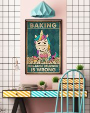 Baking Because Murder Is Wrong  11x17 Poster lifestyle-poster-6