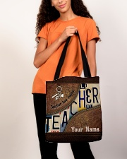 Custom Name Teacher Love Inspire All-over Tote aos-all-over-tote-lifestyle-front-06