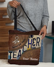 Custom Name Teacher Love Inspire All-over Tote aos-all-over-tote-lifestyle-front-10