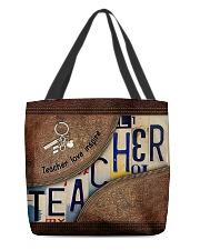 Custom Name Teacher Love Inspire All-over Tote back