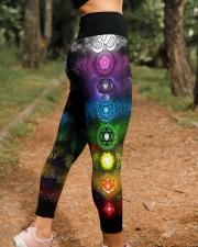 Yoga 7 Color Chakras High Waist Leggings aos-high-waist-leggings-lifestyle-21