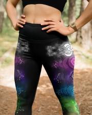 Yoga 7 Color Chakras High Waist Leggings aos-high-waist-leggings-lifestyle-22