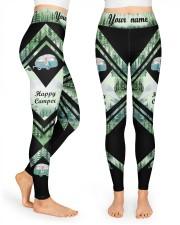 Happy Camper High Waist Leggings front