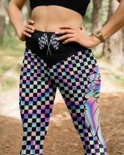 Never Go Faster Than Your Guardian Angel High Waist Leggings aos-high-waist-leggings-lifestyle-22