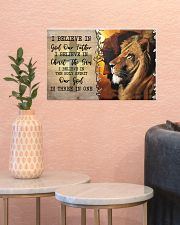 I Believe In God Our Father  17x11 Poster poster-landscape-17x11-lifestyle-21
