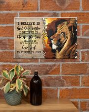 I Believe In God Our Father  17x11 Poster poster-landscape-17x11-lifestyle-23