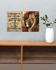 I Believe In God Our Father  17x11 Poster poster-landscape-17x11-lifestyle-24