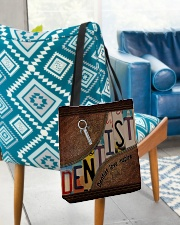 Dentist love inspire All-over Tote aos-all-over-tote-lifestyle-front-01