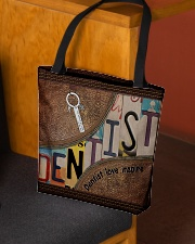 Dentist love inspire All-over Tote aos-all-over-tote-lifestyle-front-02